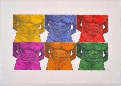 Kleur als lichaam, 1997