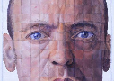 zelfportret Wim Konings