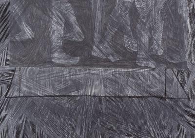 Kunstwerk Studei voor het begraven van het hout van Wim Konings