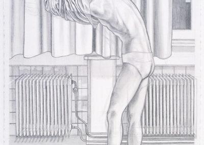 tekening Wim Konings de keuring