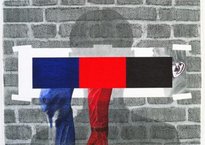 Lichamelijke bijverschijnselen in de toepassing van blauw, rood en zwart, 1995