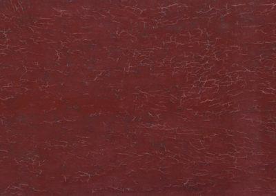 olieverf werk van Wim Konings in rood