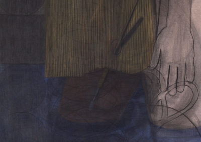 gemengde techniek werk van Wim Konings uit 1991