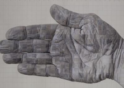 Studie van de rechterhand I, 2005