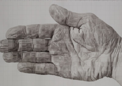 Studie van de rechterhand II, 2005