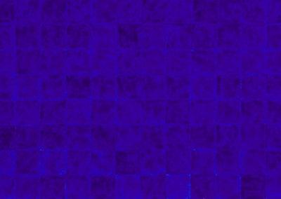 raster in hel blauw van Wim Konings in aquarel