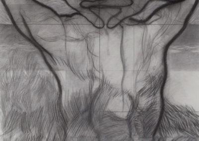 tekening van een man van Wim Konings